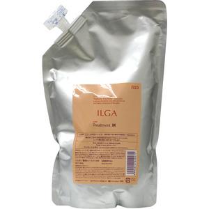 画像1: ナンバースリー ILGA(イルガ) 薬用トリートメント M 800g(詰替え用リフィル)【医薬部外品】